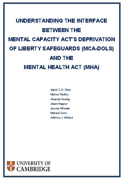 mental capacity act The mental capacity act (mca) is designed to protect and empower people who may lack the mental capacity to make their own decisions about their care and treatment it applies to people aged 16 and over it covers decisions about day-to-day things like what to wear or what to buy for the weekly shop.